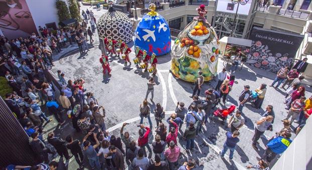 Emaar Square Mall'da 30 gün sürecek etkinlikler devam ediyor