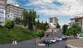 Kütahya Emet'te TOKİ'nin inşa edeceği 219 konutun ihalesi yapıldı