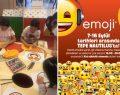 Çılgın emojiler Tepe Nautilus'ta