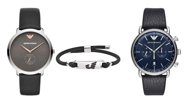 Emporio Armani saatlerine modern görünüm