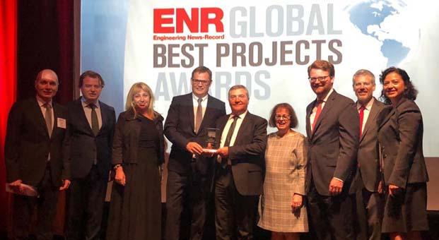 """Uluslararası Türkmenbaşı Limanı, New York'ta """"ENR Best Project Ödülü"""" kazandı"""