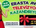 """Erasta Antalya'dan 10 Kişiye 49"""" Smart Televizyon hediye"""