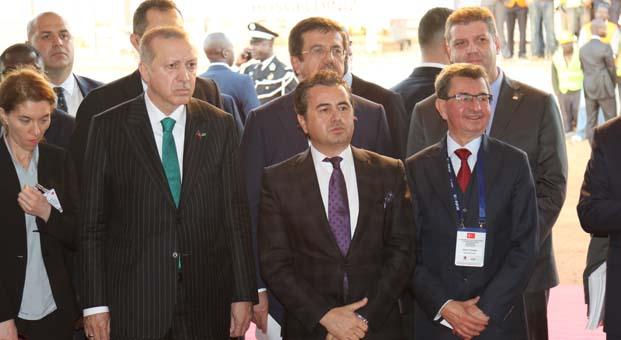 Cumhurbaşkanı Erdoğan Senegal'de Miller Holding şantiyesini ziyaret etti
