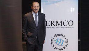 Yavuz Işık, yeniden Avrupa Hazır Beton Birliği (ERMCO) Başkanlığına seçildi