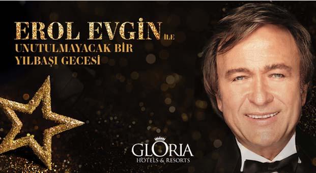 Gloria Hotels&Resorts'taErol Evgin ile unutulmaz bir yılbaşı gecesi