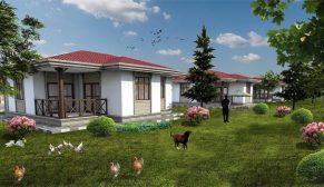 Erzincan Üzümlü'ye 363 tarımköy konutu