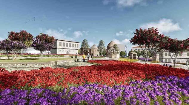 TOKİ'den Erzurum'a millet bahçesi