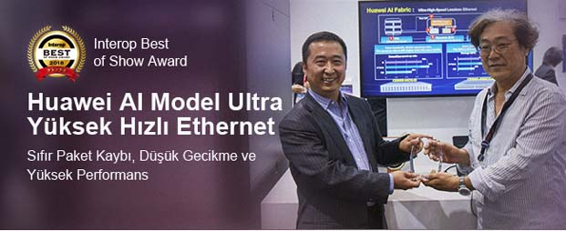 Huawei Best of Show Ödülü'nü kazandı