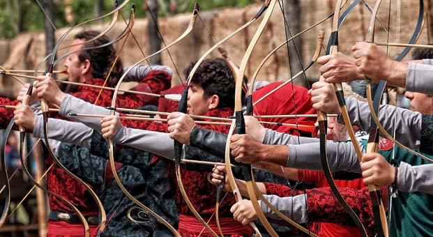 Etnospor Kültür Festivali'nde çocuk okçuların mücadelesi nefes kesecek