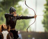 Etnospor Kültür Festivali'nde atlı okçuluk coşkusu
