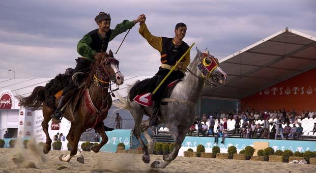 Etnospor Kültür Festivali'nde geleneksel sporların heyecanı devam ediyor