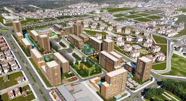 Evora Denizli'nin yüzde 45.36'sı tamamlandı