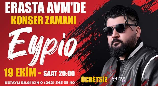 Erasta Antalya sonbaharıEypio Konseri ile karşılıyor