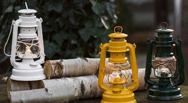 Nostaljik gaz lambası ile evinize farklı bir hava katın