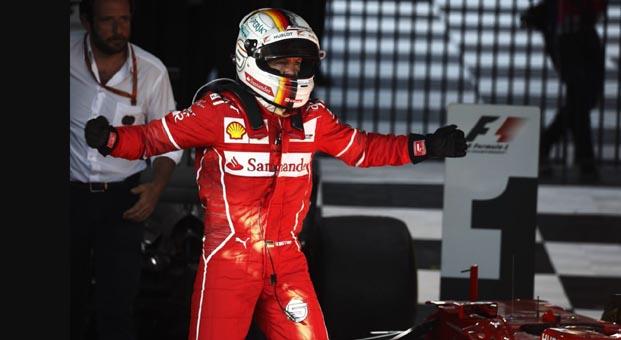 Formula 1'de ilk yarışı Vettelkazandı