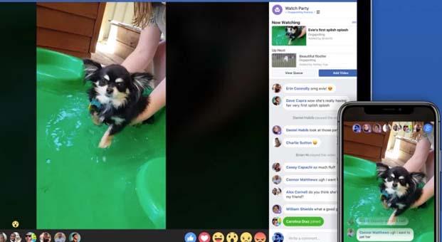 Facebook, Watch Party'i duyurdu