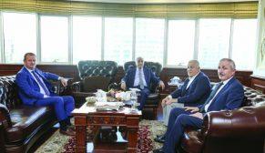 Bakan Fakıbaba, ASÜD ve USK Başkanı Çallı'dan süt sektörünü dinledi