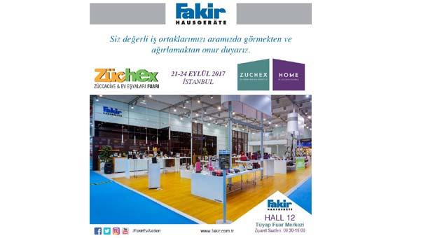 Fakir Hausgeräte yeni ürünleriyle Zuchex Fuarı'nda