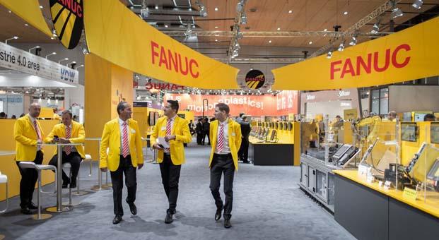 EMO Hannover Fuarı'nda FANUC'a yoğun ilgi