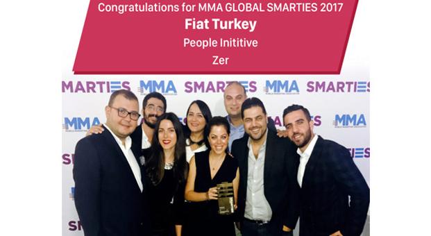Fiat'a MMA Smarties Global'de ödül