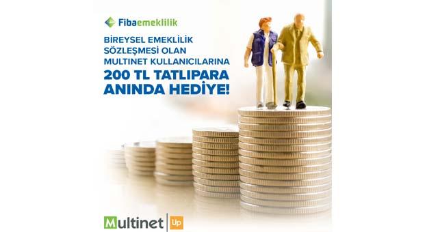 Multinet Up ve Fibaemeklilik iş birliğiyle bireysel emeklilik başlatanlar kazanıyor