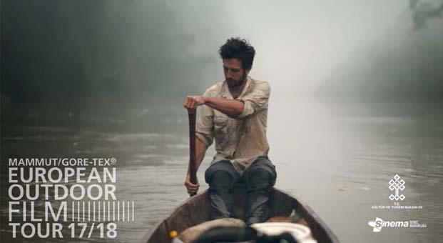European Outdoor Film Tour ilk defa Türkiye'de
