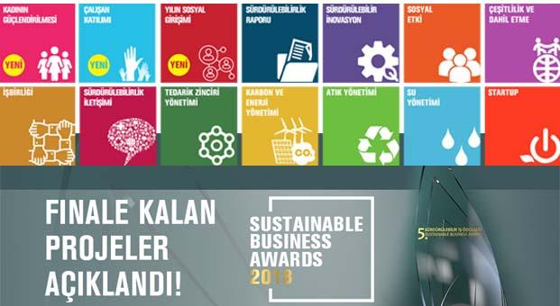 'Sürdürülebilir İş Ödülleri' finalistleri belli oldu