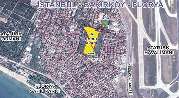 İstanbul Bakırköy Florya Arsa Satışı Karşılığı Gelir Paylaşım İhalesi sonuçlandı