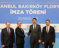 2.25 milyar TL'lik Florya arsası için imzalar atıldı