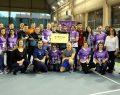 Foot-Volley ile çocuklara destek