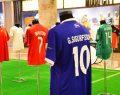 2018 Dünya Kupası'na katılan takımların ve ünlü yıldızların formaları İstinyePark'ta