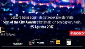 Sign Of The City Awards 2017 başvuruları için son gün