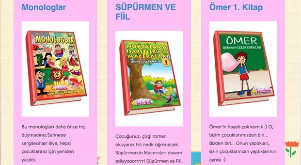 Gurbetçi çocukları için e-kitap