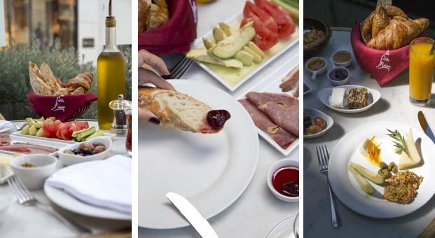La Petite Maison'da ikonik Fransız kahvaltısına Türk dokunuşu