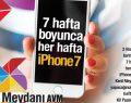 Kent Meydanı AVM'de iPhone kazanan belli oldu