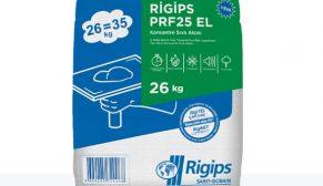 Rigips Türkiye'nin yeni ürünü PRF 25 EL standartları yükseltiyor