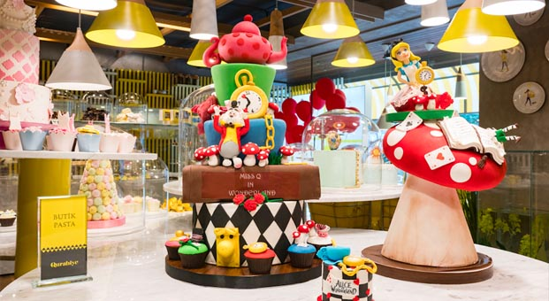 Qurabiye'den butik pastalar