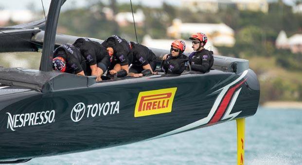 Pirelli Amerika Kupası'nda Emirates'in Yeni Zelanda takımına sponsor oldu