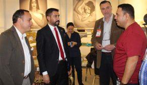 AK Partili vekil Cahit Özkan 5. Home&Tex Ev Tekstili ve Dekorasyon Fuarı'nı ziyaret etti
