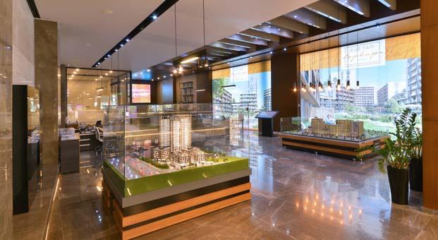 Sur Yapı Satış Ofislerine Batur ve Batur Mimarlık dokunuşu