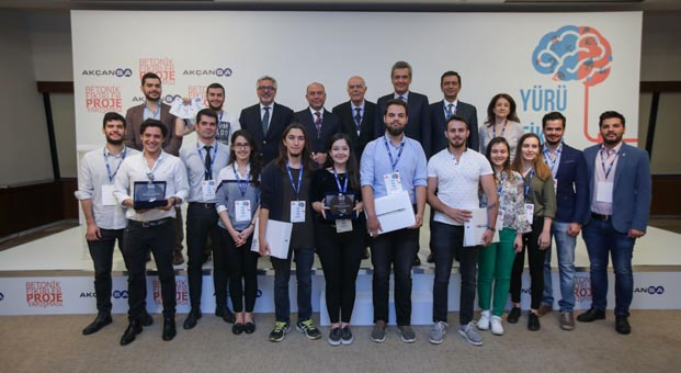 Rekor katılımın olduğu Betonik Fikirler Yarışmasının ödül töreni yapıldı