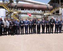 Votorantim Cimentos'un 140 milyon Avro'luk yatırım yaptığı Sivas fabrikası açıldı