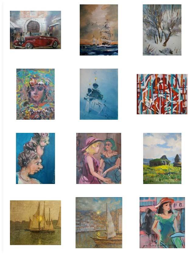 Orijinal Eserler Arp Gallery'de yeni sahiplerini bekliyor