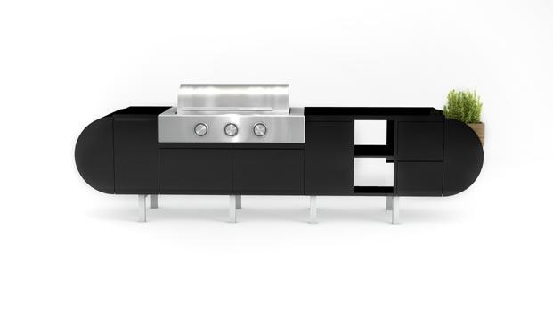 Cosentino açık hava mutfağı ile yaşam alanlarını özgürleştiriyor
