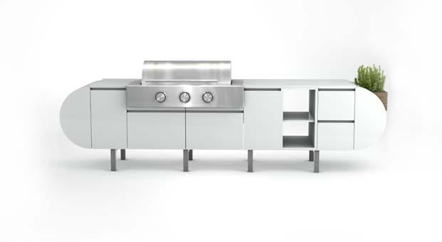 Cosentino açık hava mutfağı ile özgürleşen dış mekanlar