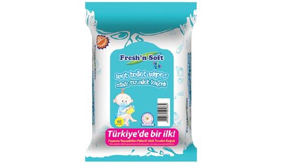 Fresh'n Soft ıslak tuvalet kağıdıyla temizlik eğitimi eğlenceye dönüşüyor
