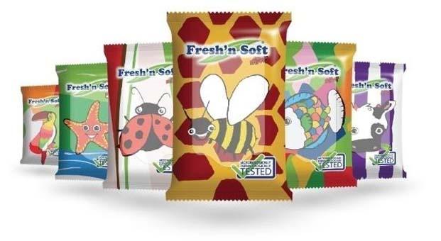 Fresh'n Soft ile hijyen okul çantalarında