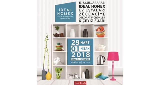 2018'in eve dair en yeni tasarımları IDEAL HOMEX 2018S Fuarı'nda