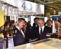 Bilim Sanayi ve Teknoloji Bakanı Dr. Faruk Özlü,WIN EURASIA'yı ziyaret etti