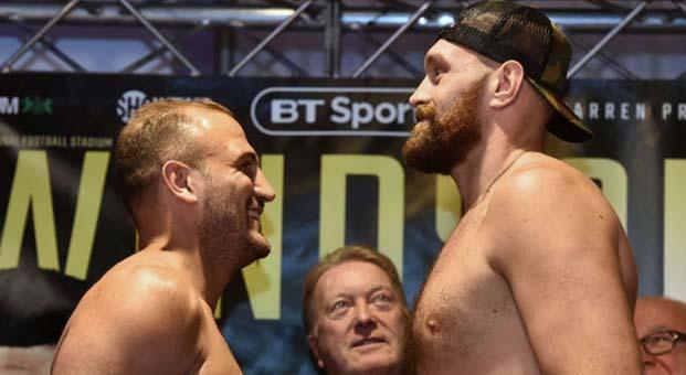 Tyson Fury Francesco Pianeta boks maçı ne zaman saat kaçta hangi kanal canlı yayınlıyor?